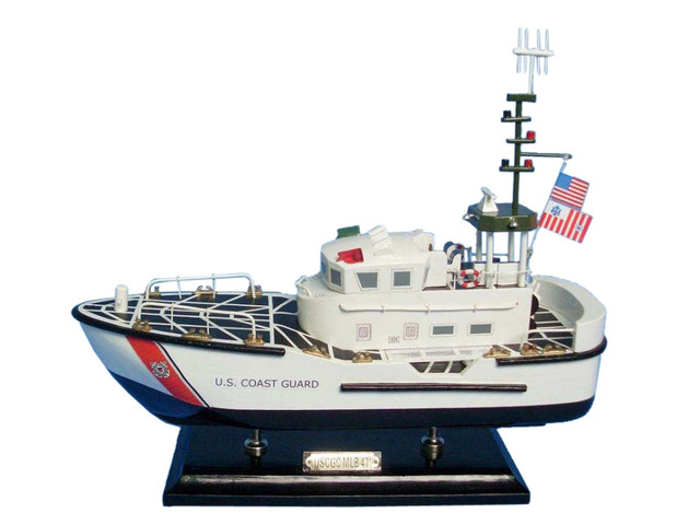 Wooden United States Coast Guard USCG 47 Foot Motor Lifeboat 16