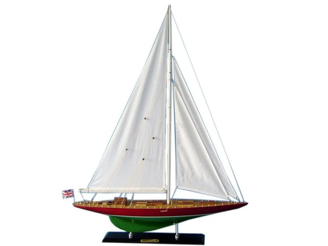 Wooden Endeavour 2 Limited Model Sailboat Decoration 35
