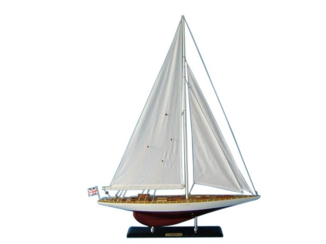 Wooden Gretel Limited Model Sailboat Decoration 35