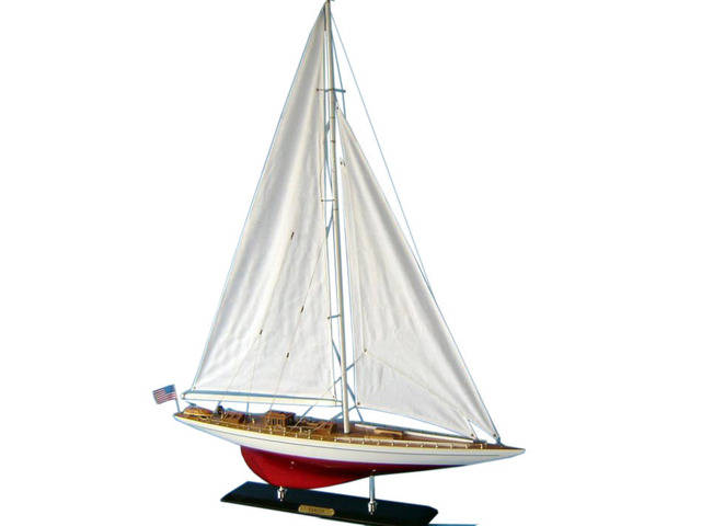 Wooden Ranger Limited Model Sailboat Decoration 35