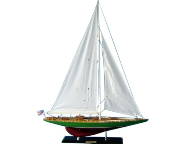 Wooden Weatherly Limited Model Sailboat Decoration 35