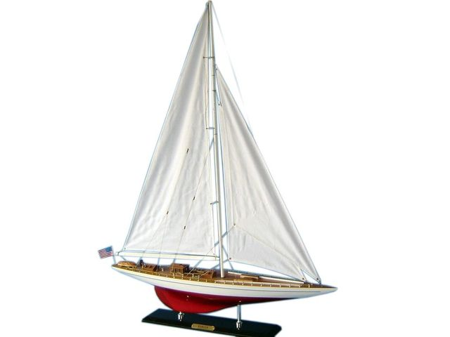 Wooden Ranger Limited Model Sailboat Decoration 50