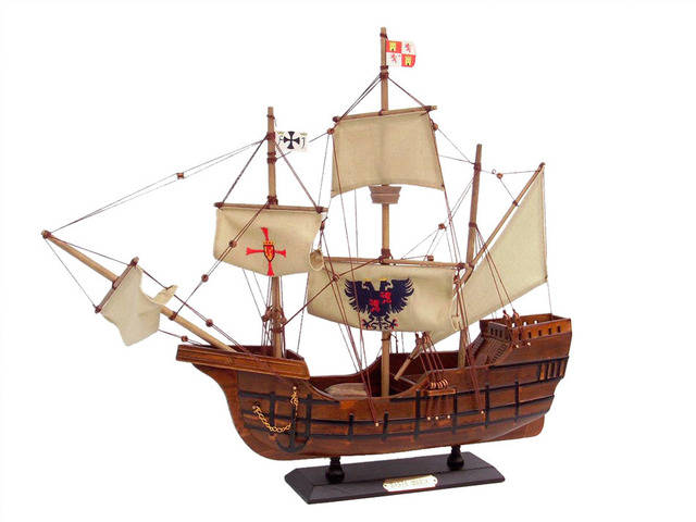 Wooden Santa Maria Limited Tall Model Ship 20