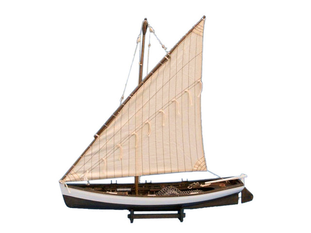Wooden Sailing Away Model Boat 28