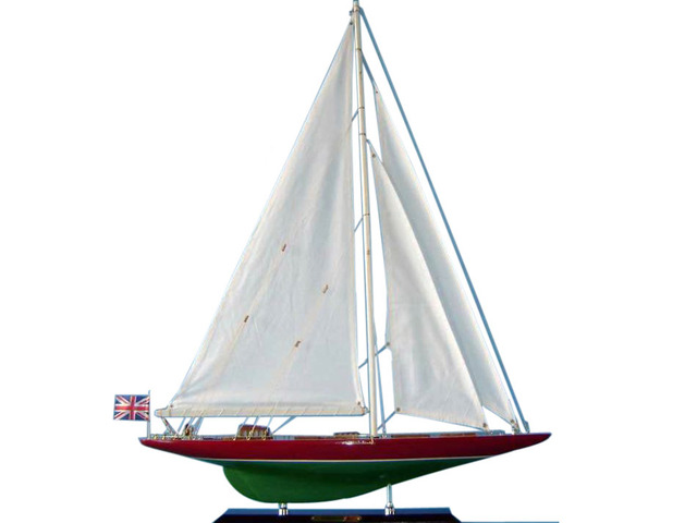 Wooden Endeavour 2 Limited Model Sailboat Decoration 27