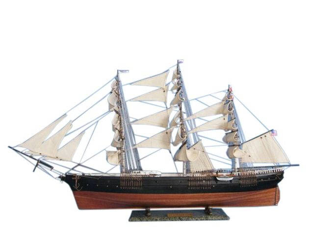 FLASH SALE ENDED - MODEL IS SOLD OUT - LOOK FOR NEXT WEEKS FLASH SALE VIA OUR NEWSLETTER - Flying Fish 50 Tall Model Ship Limited