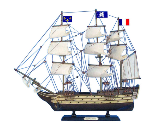 Wooden Royal Louis Tall Model Ship 20