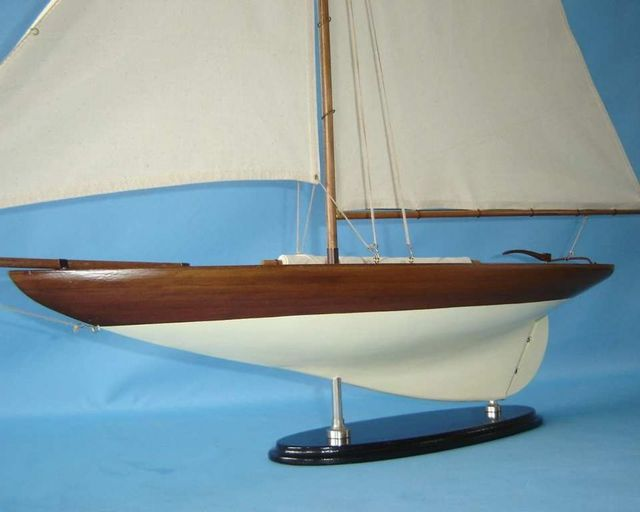 Http Ebay Com Itm Americas Cup Challenger 26 Sailboat Model Home Decor 290439616268