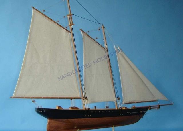 America 44 Model Sailboat Ship Home Nautical Decor Ebay
