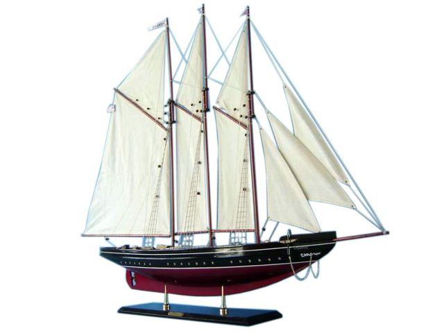Wooden Atlantic Limited Model Sailboat Decoration 50