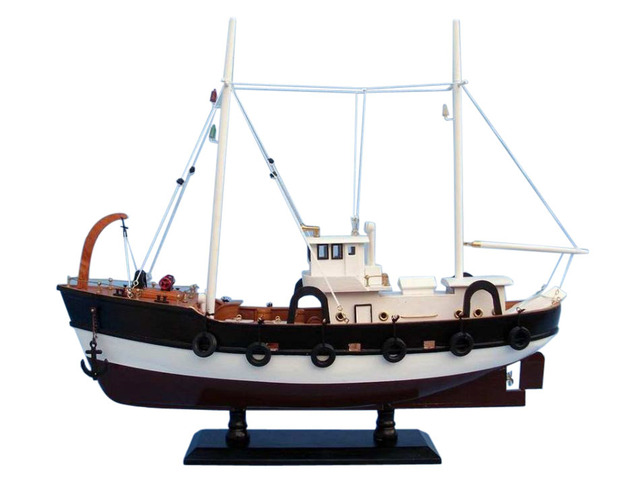 Wooden Seas the Day Model Fishing Boat 20