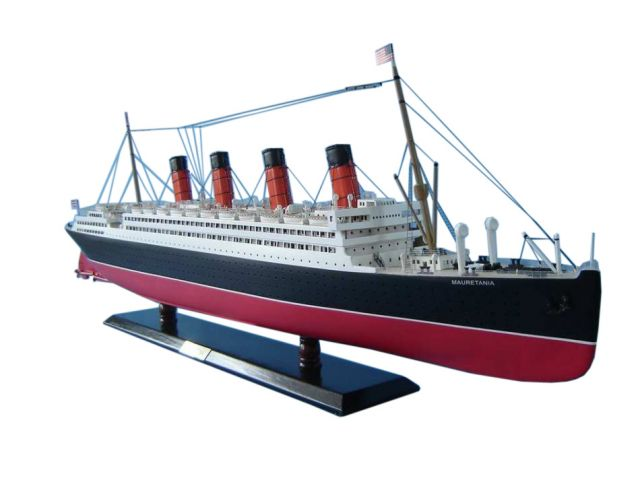 RMS Mauretania Limited Model Cruise Ship 40