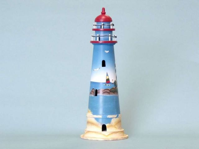 Sunrise Wooden Lighthouse 16