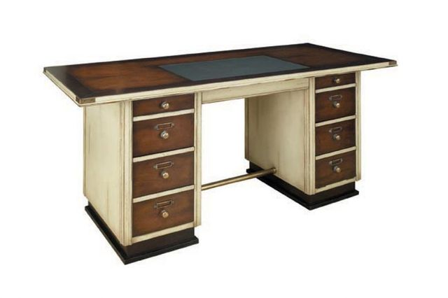Captains Desk, Ivory 67
