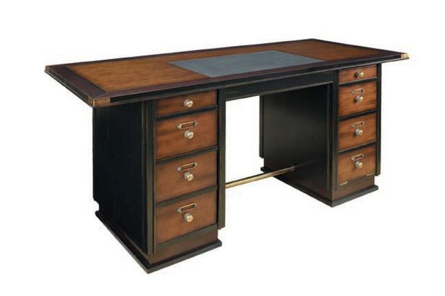 Captains Desk, Black 67