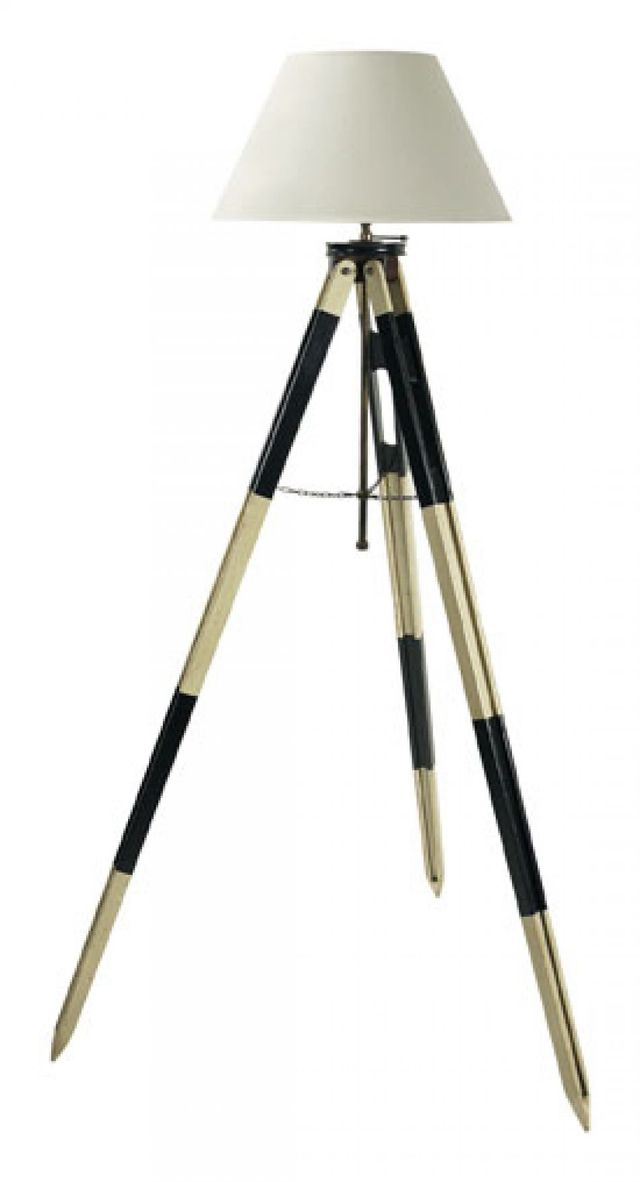 Black Surveyors Tripod Lamp 50