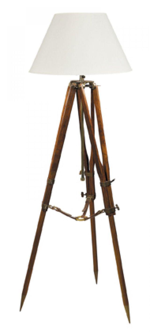 Campaign Tripod Lamp 31