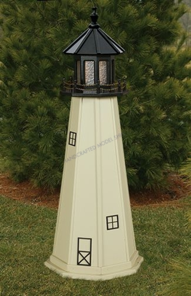 Split Rock Electric Painted Wooden Lighthouse 60