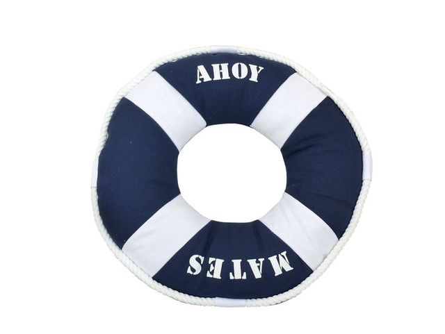 Blue Ahoy Mates Pillow 14