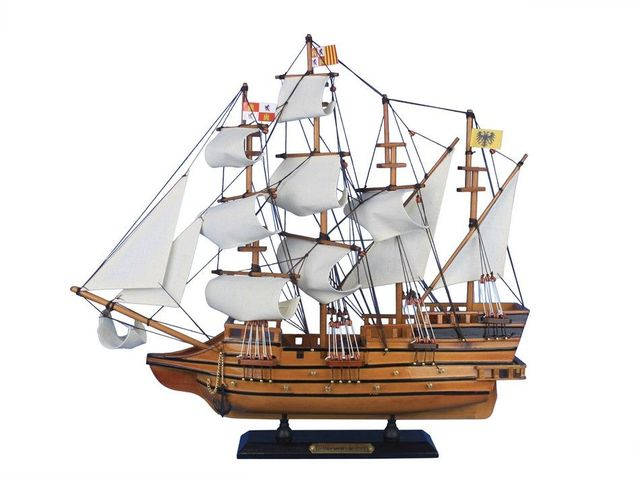 Wooden Mel Fisherandapos;s Atocha Model Ship 20