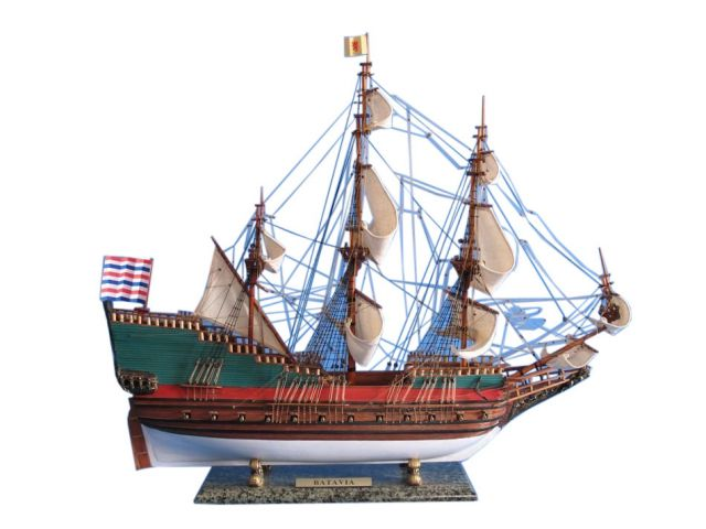 Wooden Batavia Tall Model Ship 31