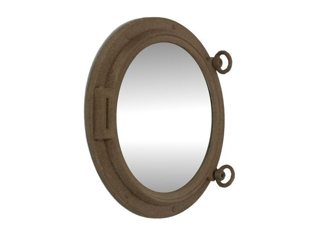 Sandy Shore Decorative Ship Porthole Mirror 15