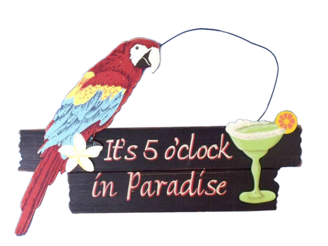 Wooden Paradise Sign 14