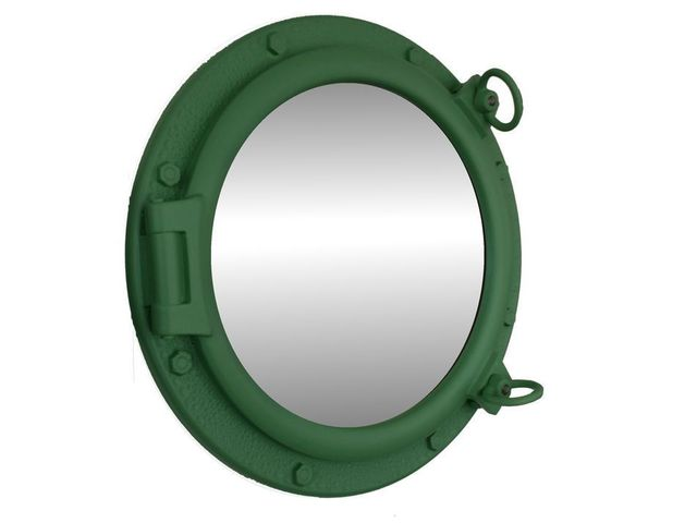 Seafoam Green Decorative Ship Porthole Mirror 20