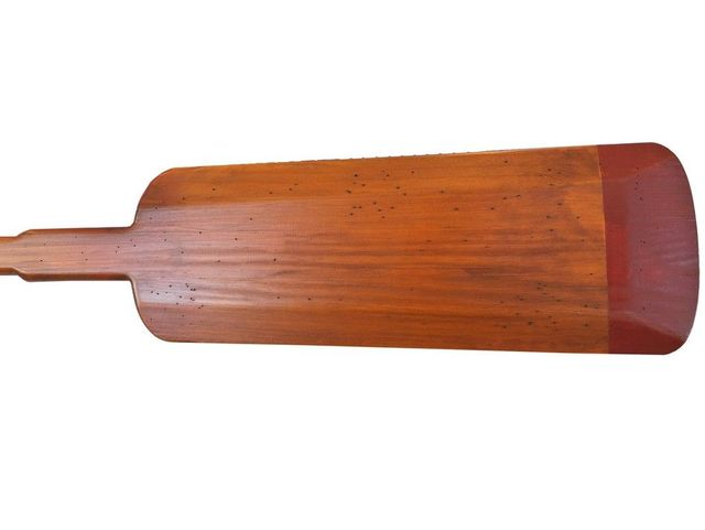 Wooden Shoreline Decorative Squared Rowing Boat Oar 50