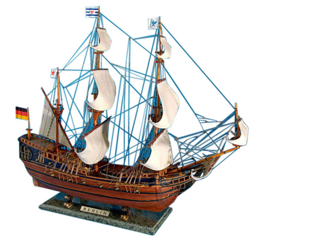 Wooden Berlin Tall Model Ship 30