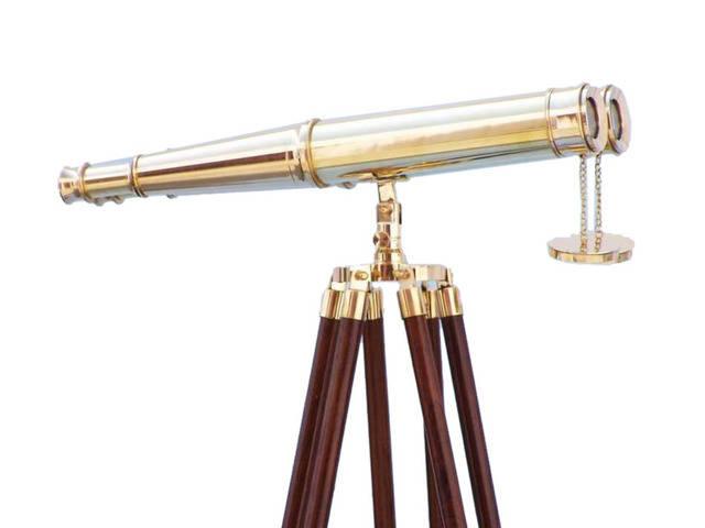 Floor Standing Admirals Solid Brass Binoculars 62