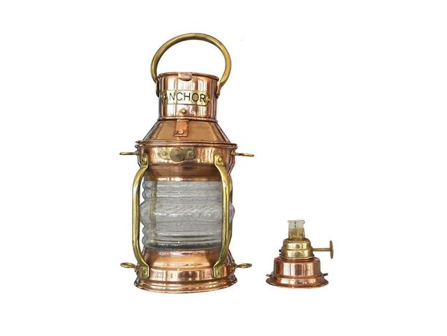 Solid Copper Oil Anchor Lamp 7