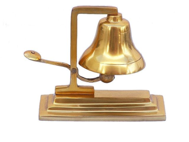 Brass Plated Table Bell