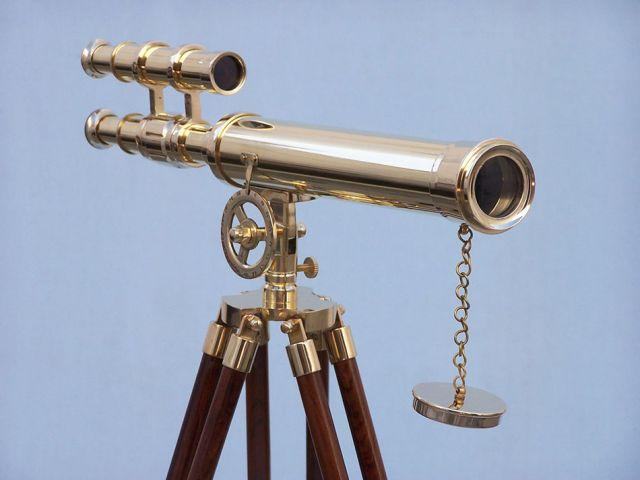 Floor Standing Brass Griffith Astro Telescope 45