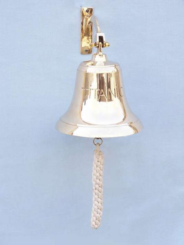 Brass Titanic Bell 8