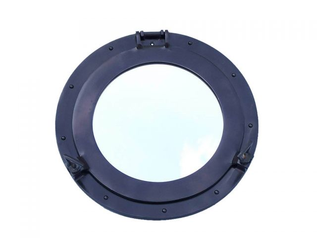 Oil Rubbed Bronze Deluxe Class Decorative Ship Porthole Window 17