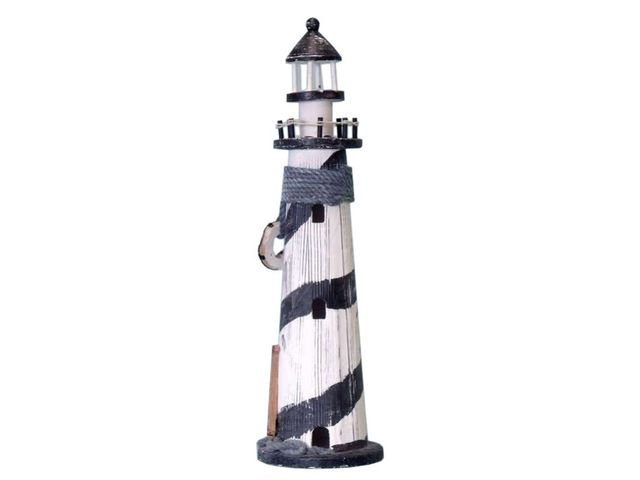 Sailboat Wooden Lighthouse 18