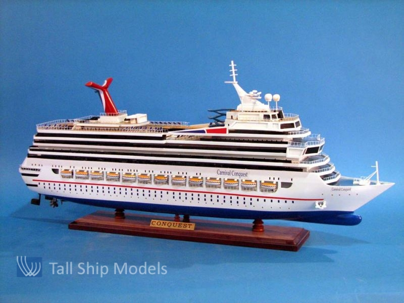 Buy Carnival Conquest 30in Model Ships