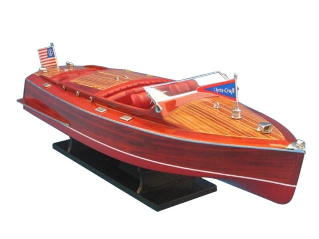 Wooden Chris Craft Runabout Limited 33