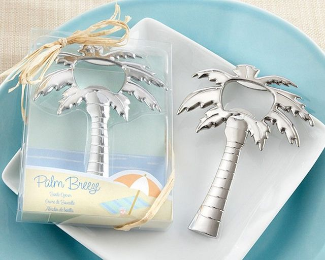 Chrome Palm Tree Bottle Opener 4