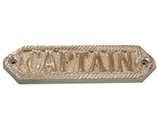 Chrome Captain Sign 6