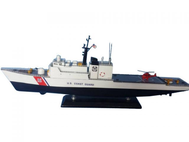 United States Coast Guard USCG Medium Endurance Cutter Model Ship Limited 18