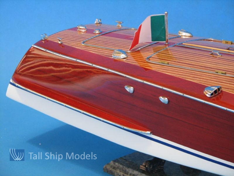 "Riva Corsaro 35"" Speed Boat Model Authentic Model 