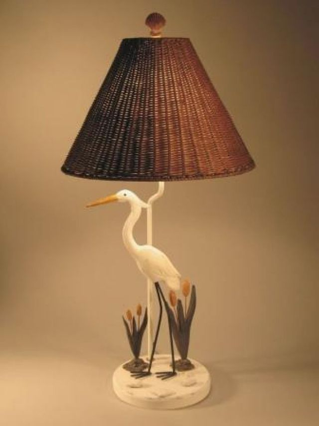 Crane Electric Lamp 30