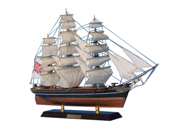 Wooden Cutty Sark Limited Tall Model Clipper Ship 20