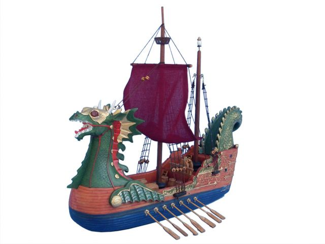 Dawn Treader Model Ship 16