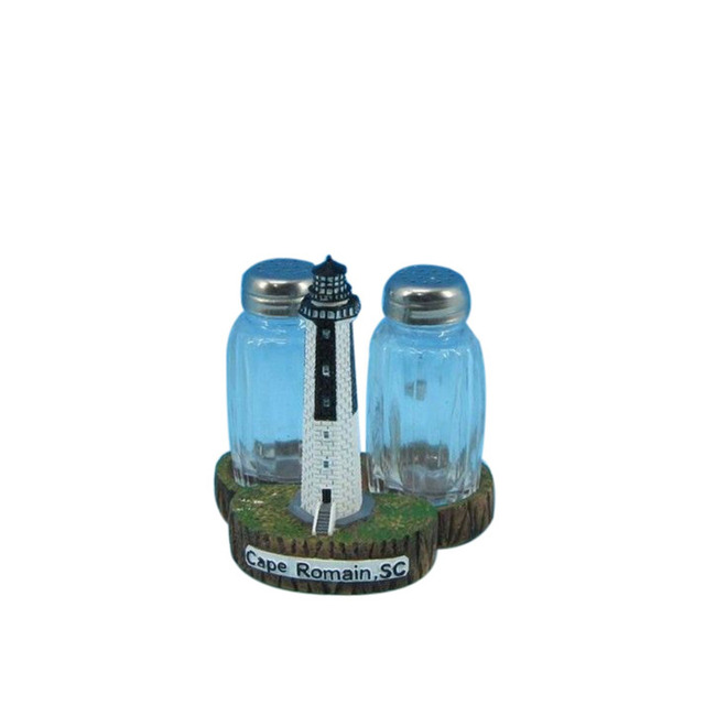 Cape Romain Lighthouse Salt and Pepper Shakers 4