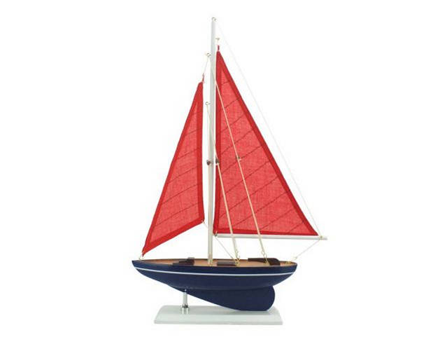 Wooden American Paradise Model Sailboat 17
