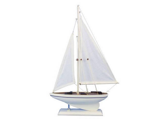 Wooden Seas the Day Model Sailboat 17