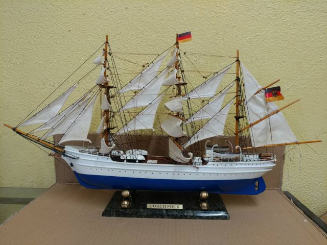Wooden Gorch Fock Limited Tall Model Ship 28